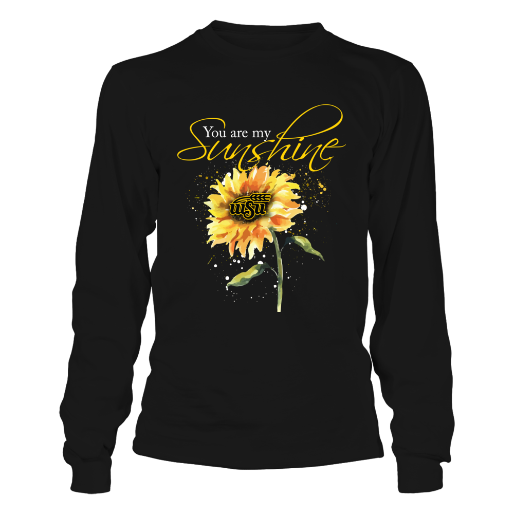 Wichita State Shockers - You Are My Sunshine - Color Drop Sunflower Front picture