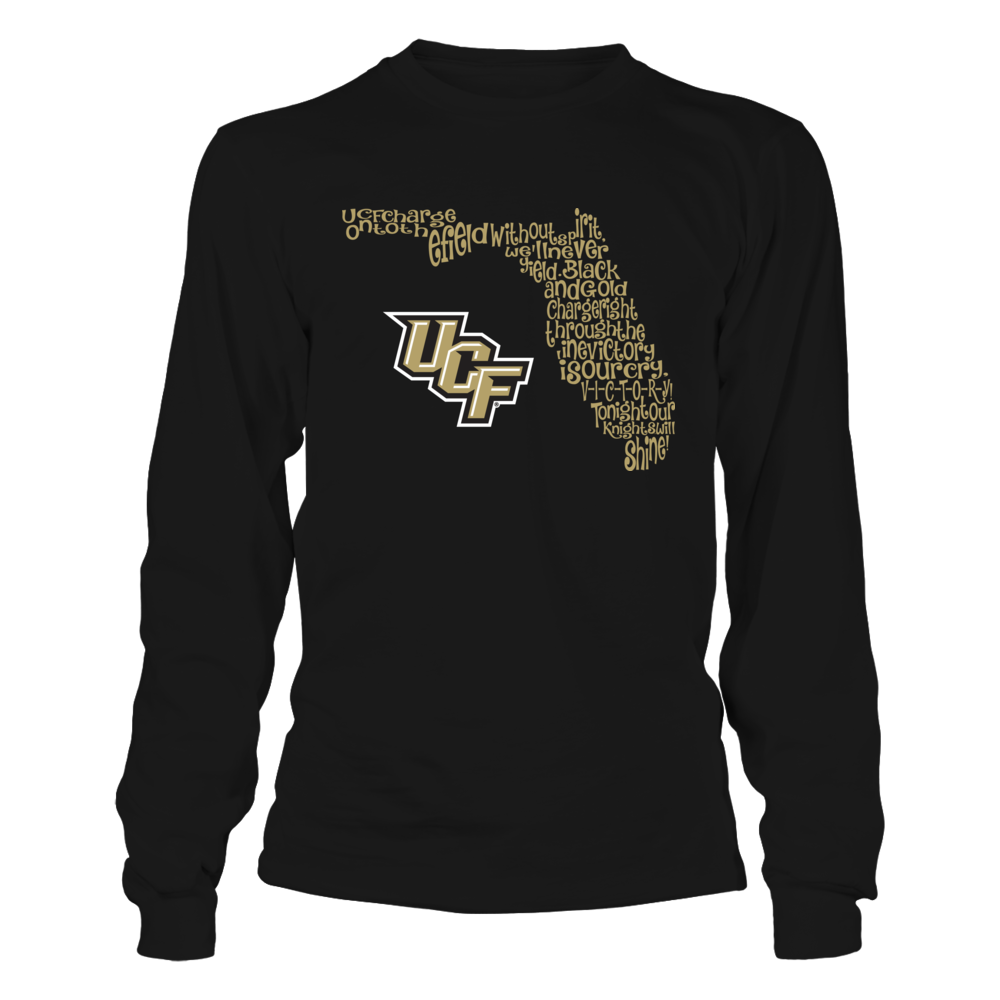 UCF Knights - Fight Song Inside State Map Front picture