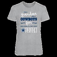Perfect Grandma Cowboys Fan T Shirt / Tank / Hoodie
