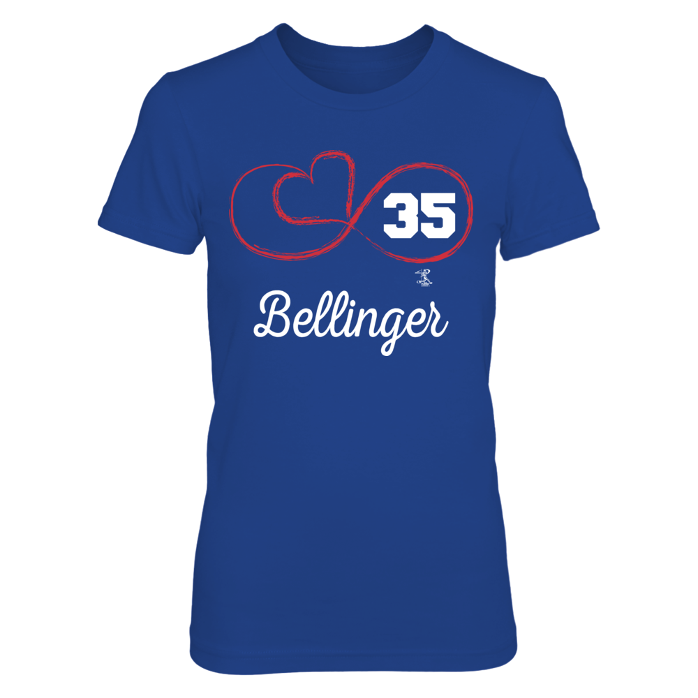 Infinite Heart - Cody Bellinger Front picture