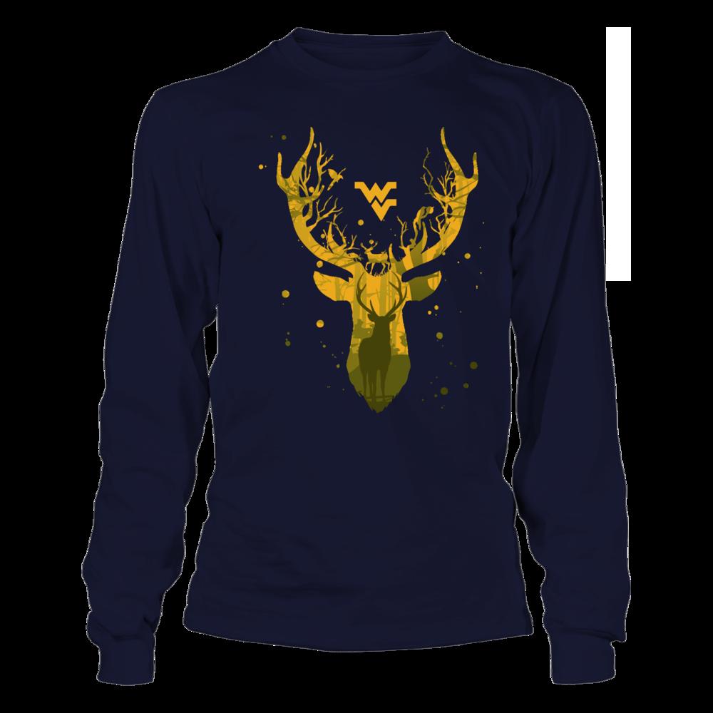 West Virginia Mountaineers - Hunting - Deer Inside Deer Front picture