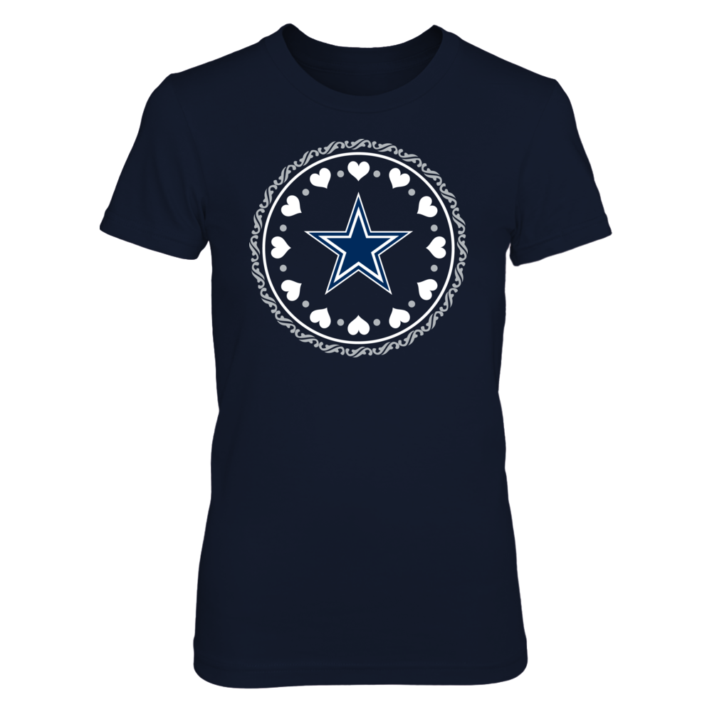 Surrounded by Love Dallas Cowboys T-Shirt | Tank Front picture