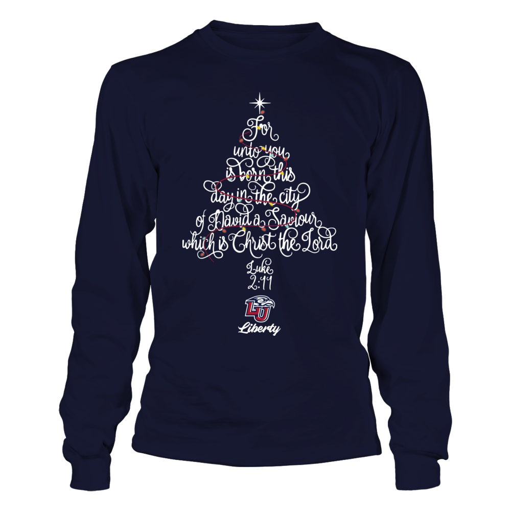 Liberty Flames - Christmas - Christ The Lord Tree Front picture