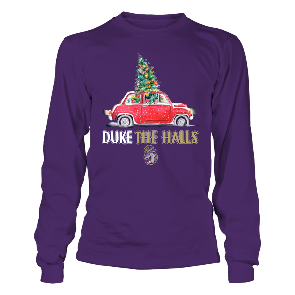 James Madison Dukes - Duke The Halls Christmas Truck - Team Slogan Front picture