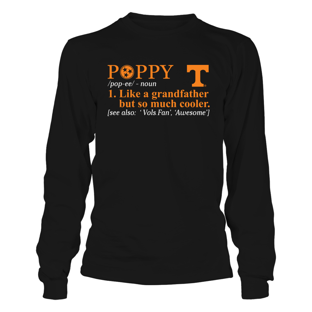 Tennessee Volunteers - Grandpa Definition Front picture