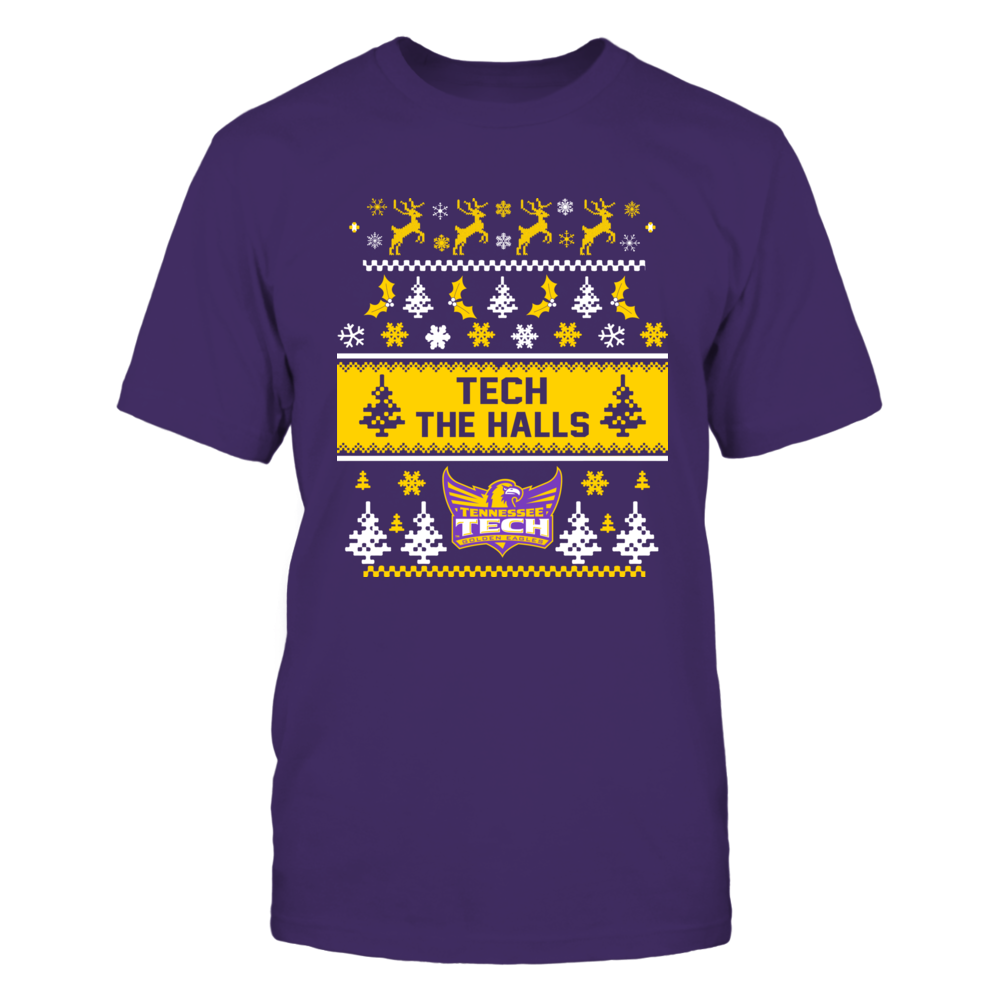 Tennessee Tech Golden Eagles - Christmas - Team Quote Ugly Sweaters Front picture