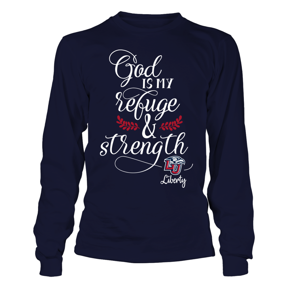 Liberty Flames - My Refuge And Strength Front picture