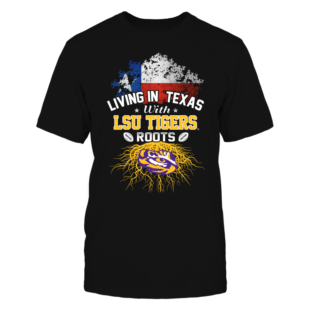 Living in Texas with Tigers Roots Front picture