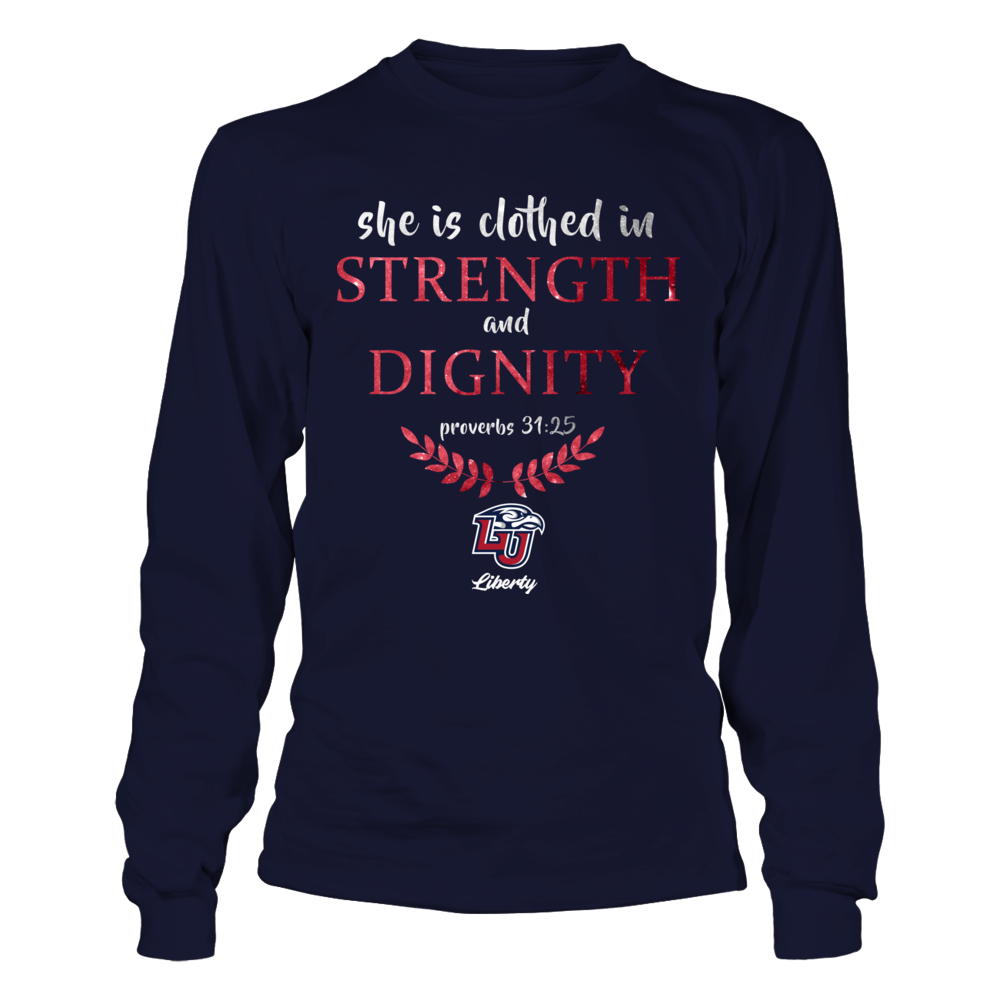 Liberty Flames - She Is Clothed In Strength And Dignity Front picture