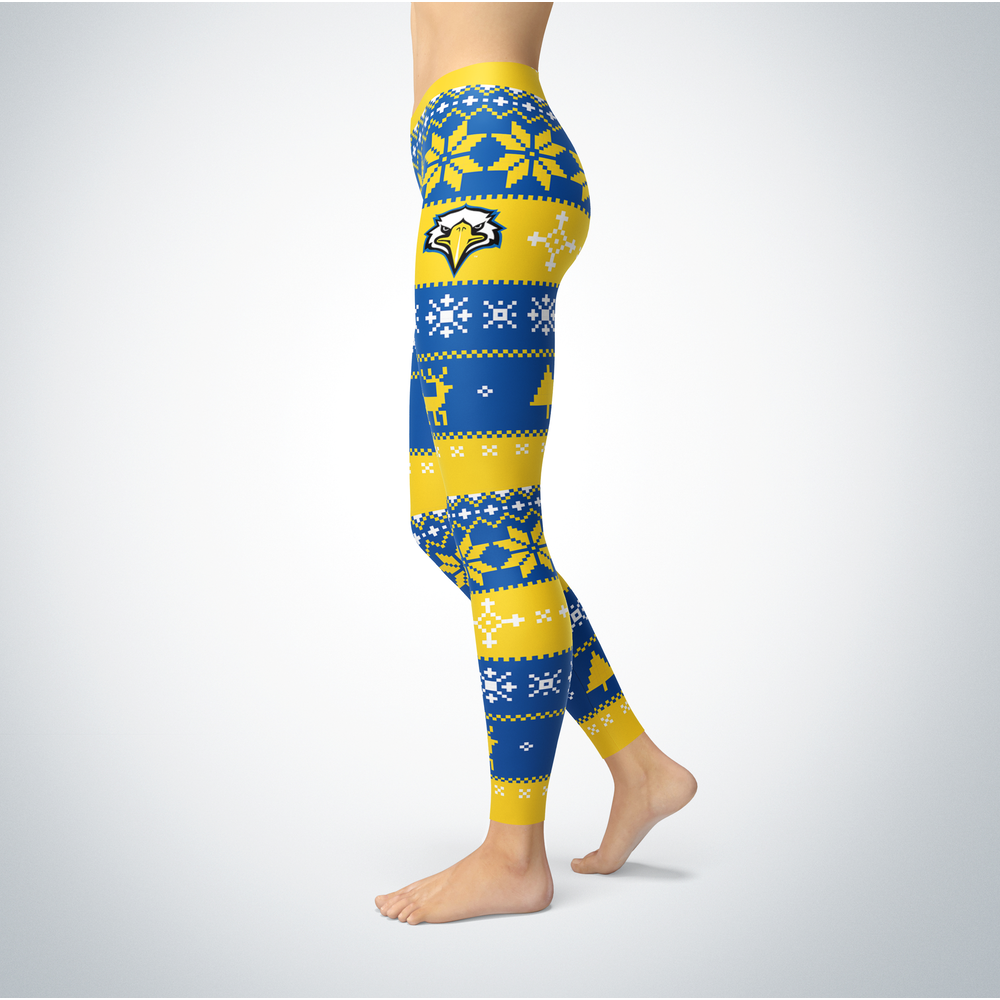Knitted Christmas Morehead State Eagles Leggings Front picture