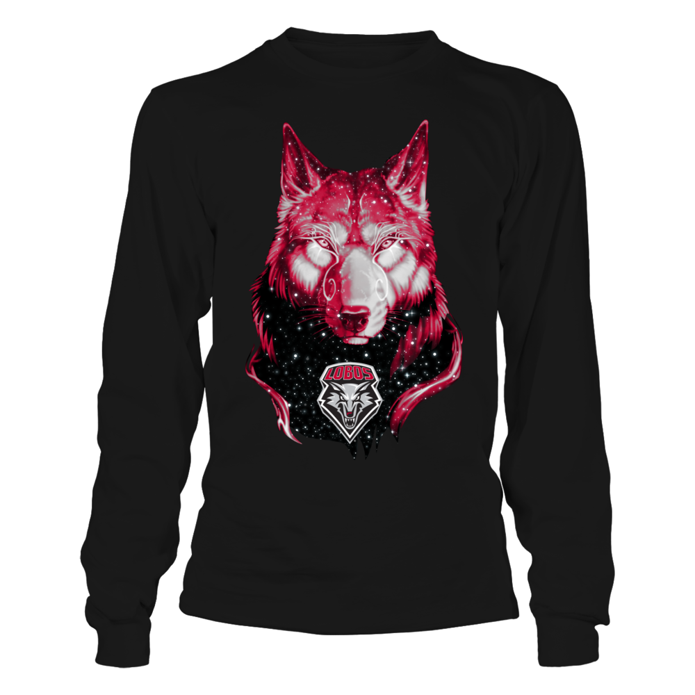 New Mexico Lobos - Galaxy Wolf Front picture