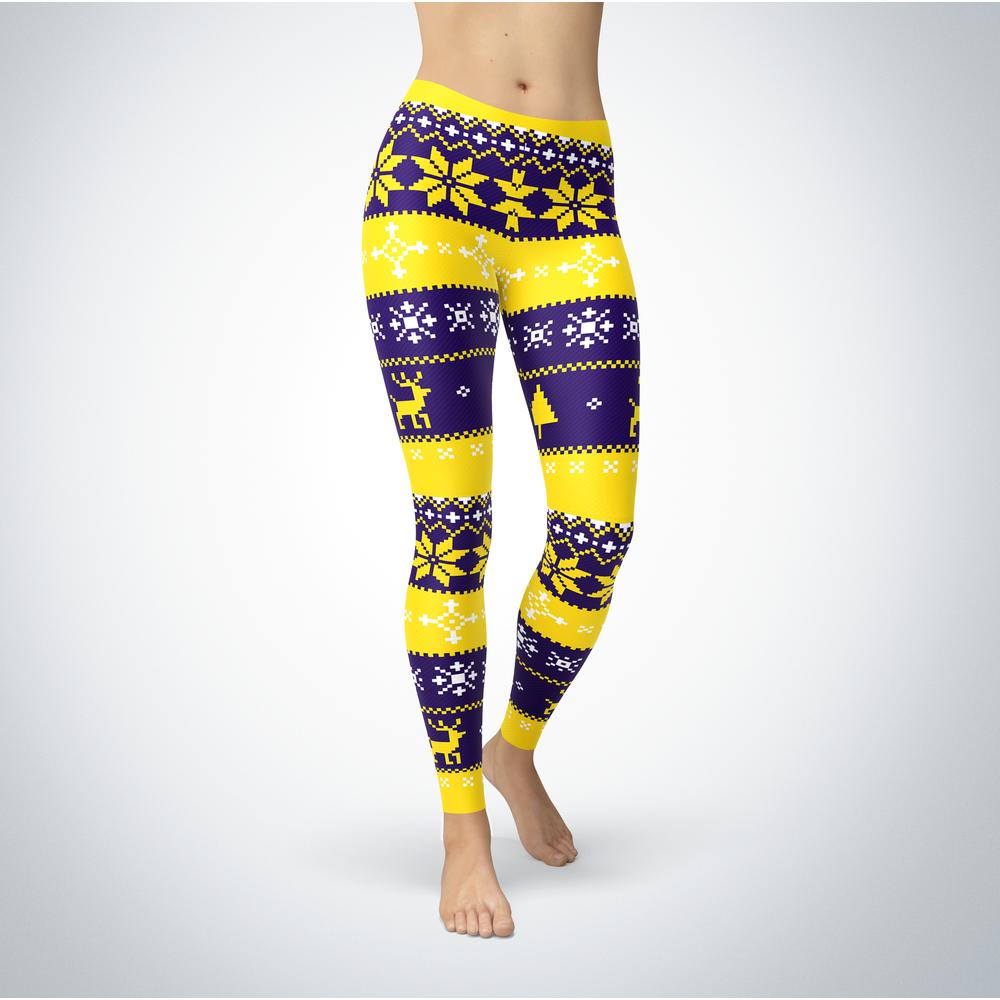 Knitted Christmas - Minnesota State Mavericks - Leggings Front picture