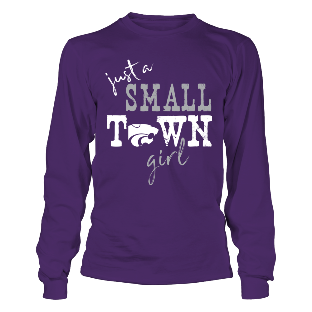 Kansas State Wildcats - Small Town Girl - Logo Front picture