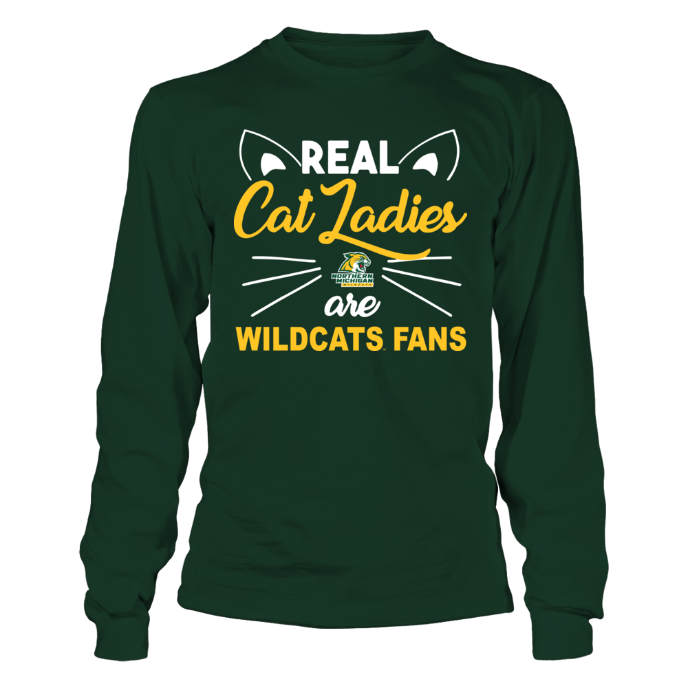 Northern Michigan Wildcats - Real Cat Ladies Front picture