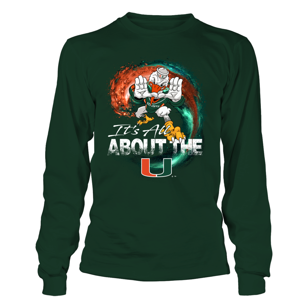 Miami Hurricanes - Mascot On The Wave Front picture