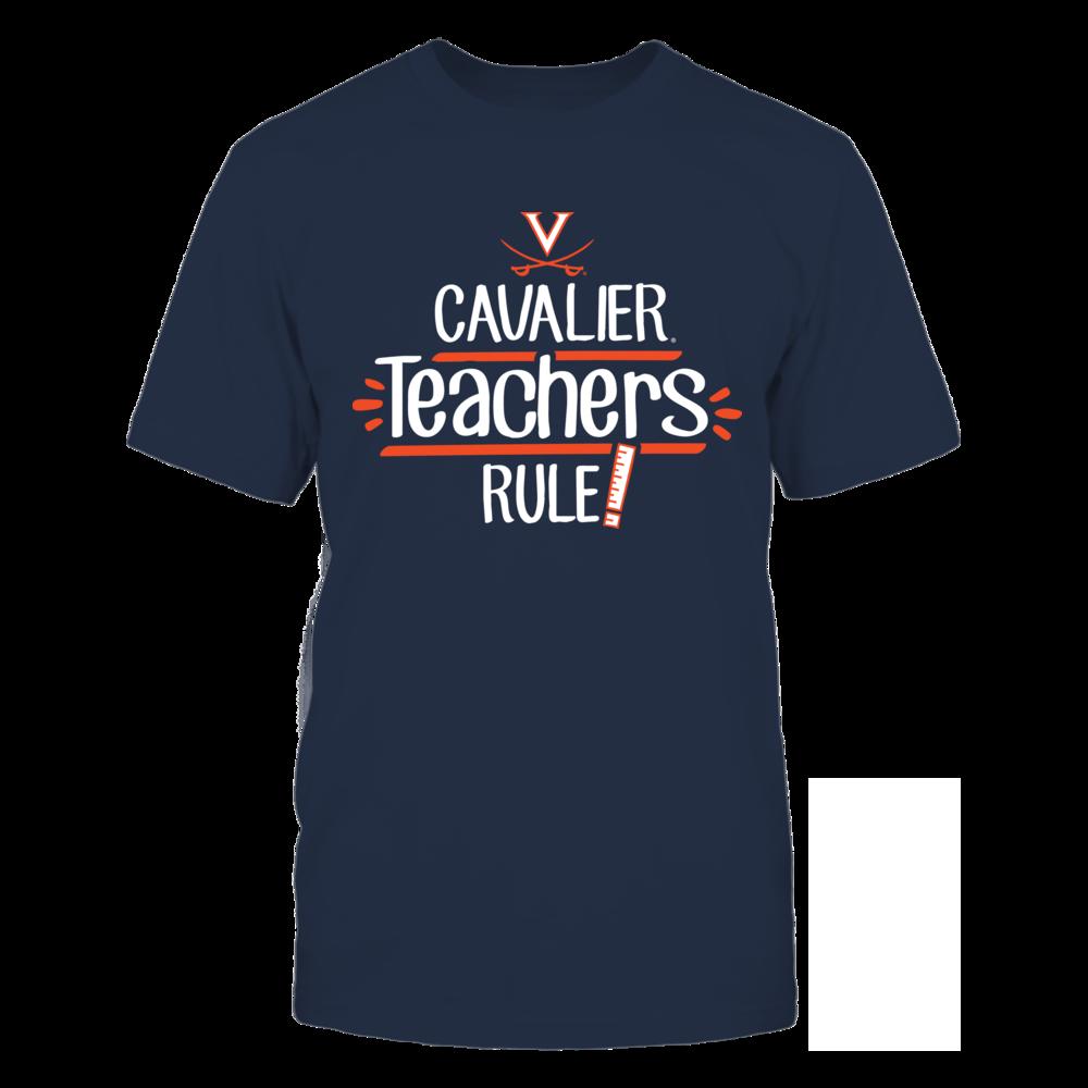 Cavalier Teachers Rule Virginia Cavaliers T-Shirt Front picture
