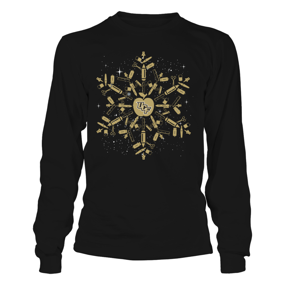 UCF Knights - Christmas - Teacher - Teacher Snowflake Front picture