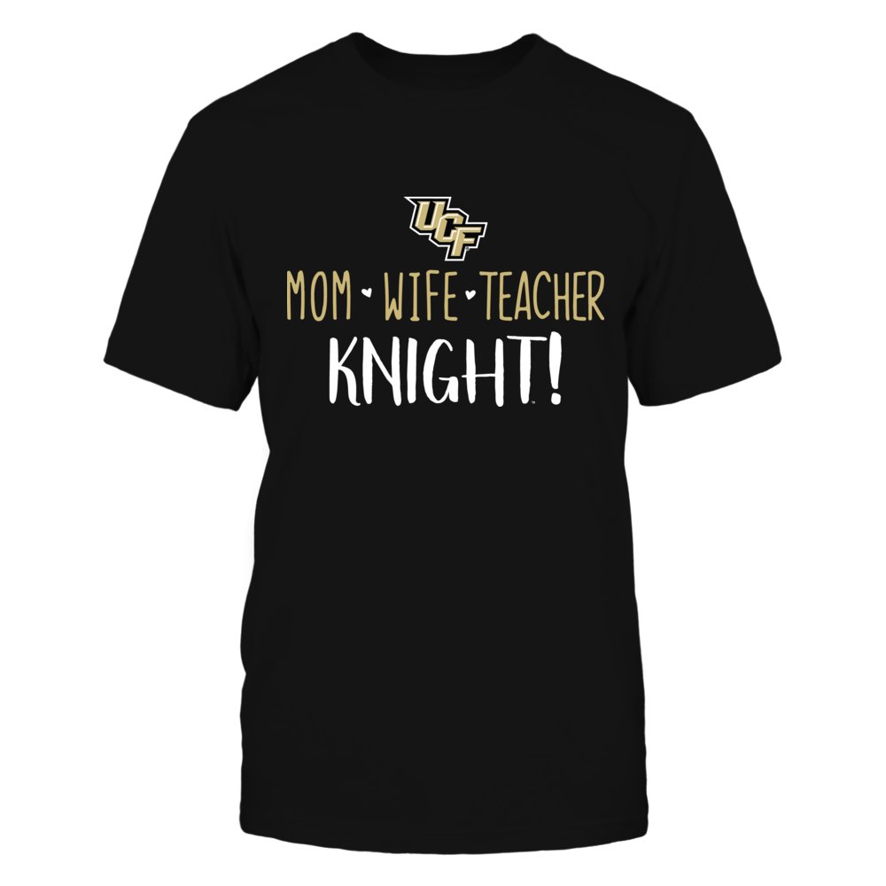 Mom, Wife, Teacher, USC Trojans T-Shirt Front picture