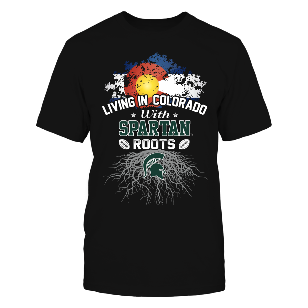 Living in Colorado with Spartans Roots Front picture