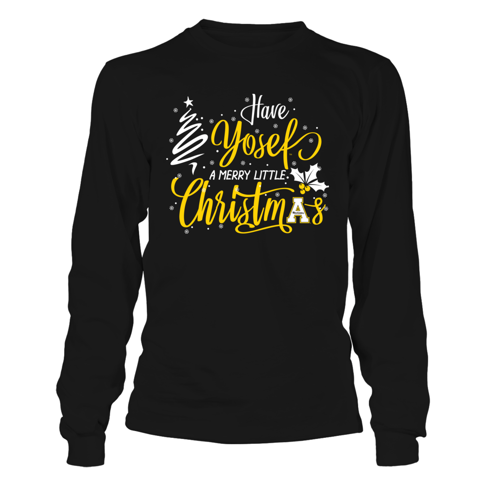 Appalachian State Moutaineers - Christmas - Have Yosef Logo Front picture