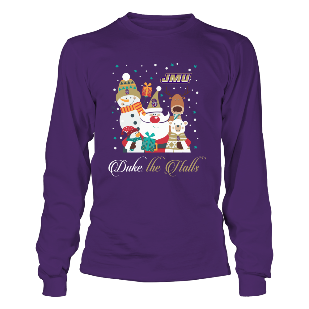 James Madison Dukes - Christmas Squad - Slogan Front picture