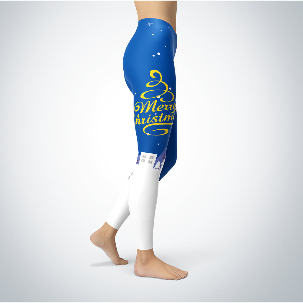 Santa Merry Christmas - Morehead State Eagles - Leggings Front picture