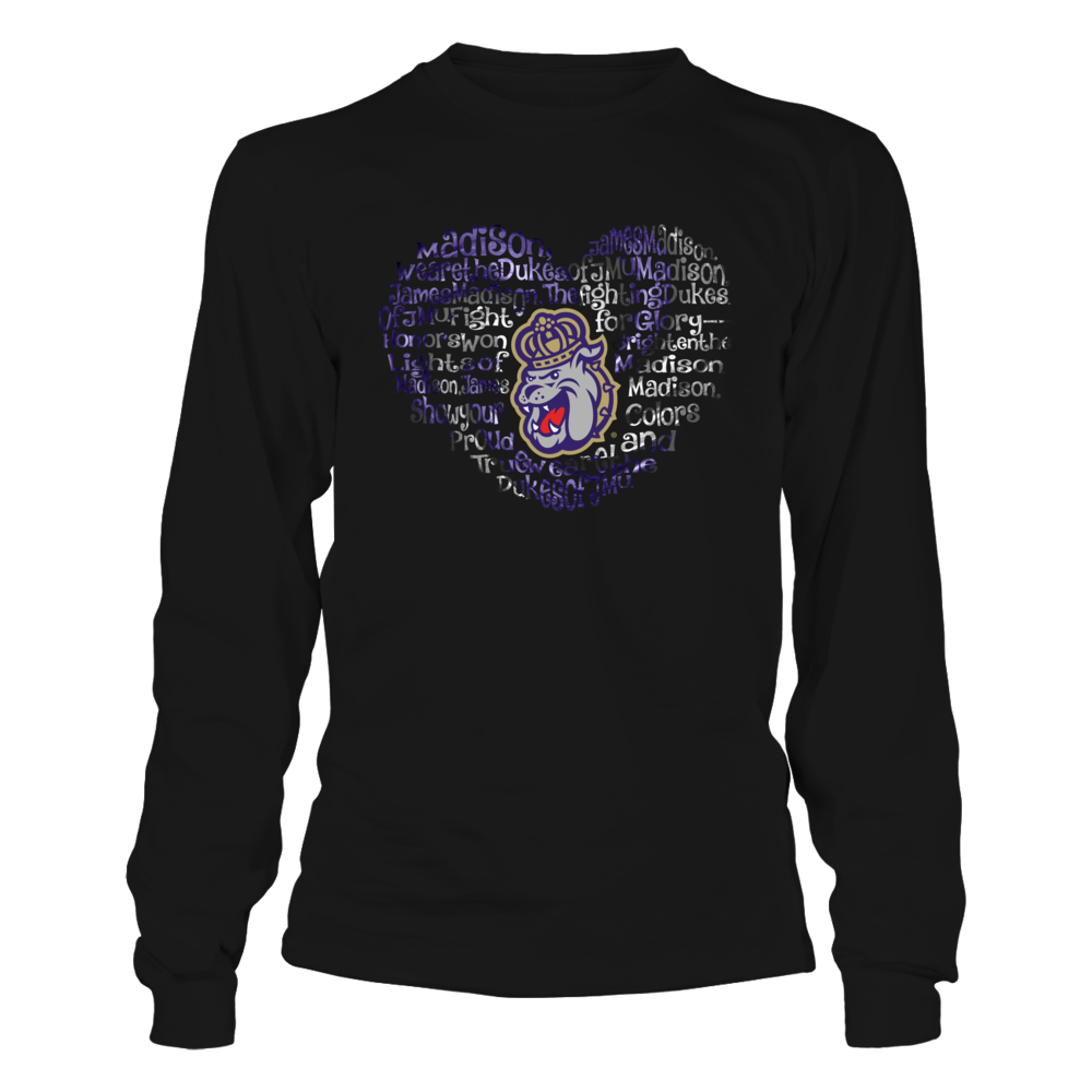 James Madison Dukes - Hurricane Fight Song Heart Front picture