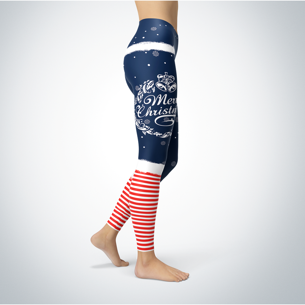 Elf Christmas - Butler Bulldogs - Leggings Front picture