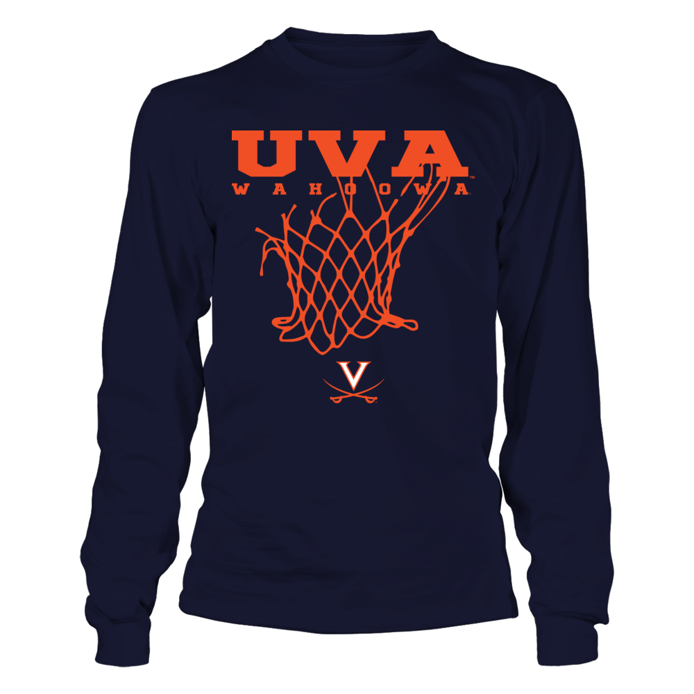 Virginia Cavaliers - Slogan Under Team Name - Basketball Front picture