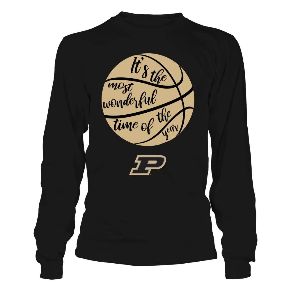 Purdue Boilermakers - Basketball - Most Wonderful Time Front picture