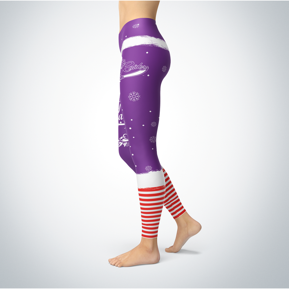 Elf Christmas Mount Union Raiders Leggings Front picture