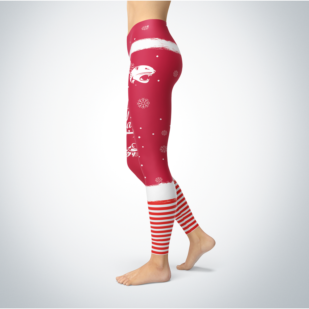 Elf Christmas South Alabama Jaguars Leggings Front picture