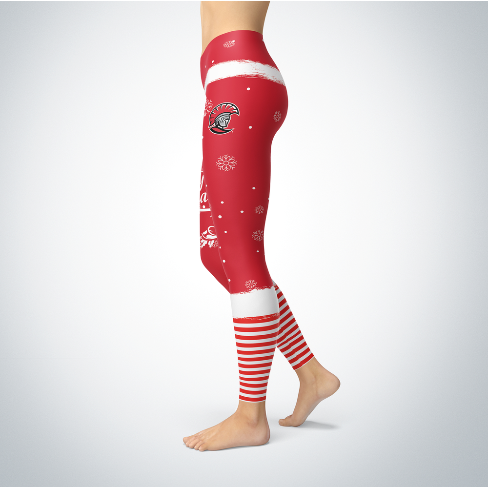 Elf Christmas Tampa Spartans Leggings Front picture