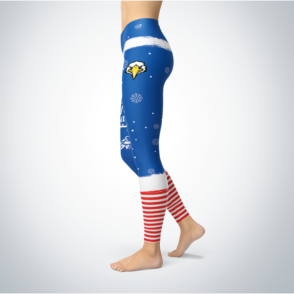 Elf Christmas  Morehead State Eagles Leggings Front picture