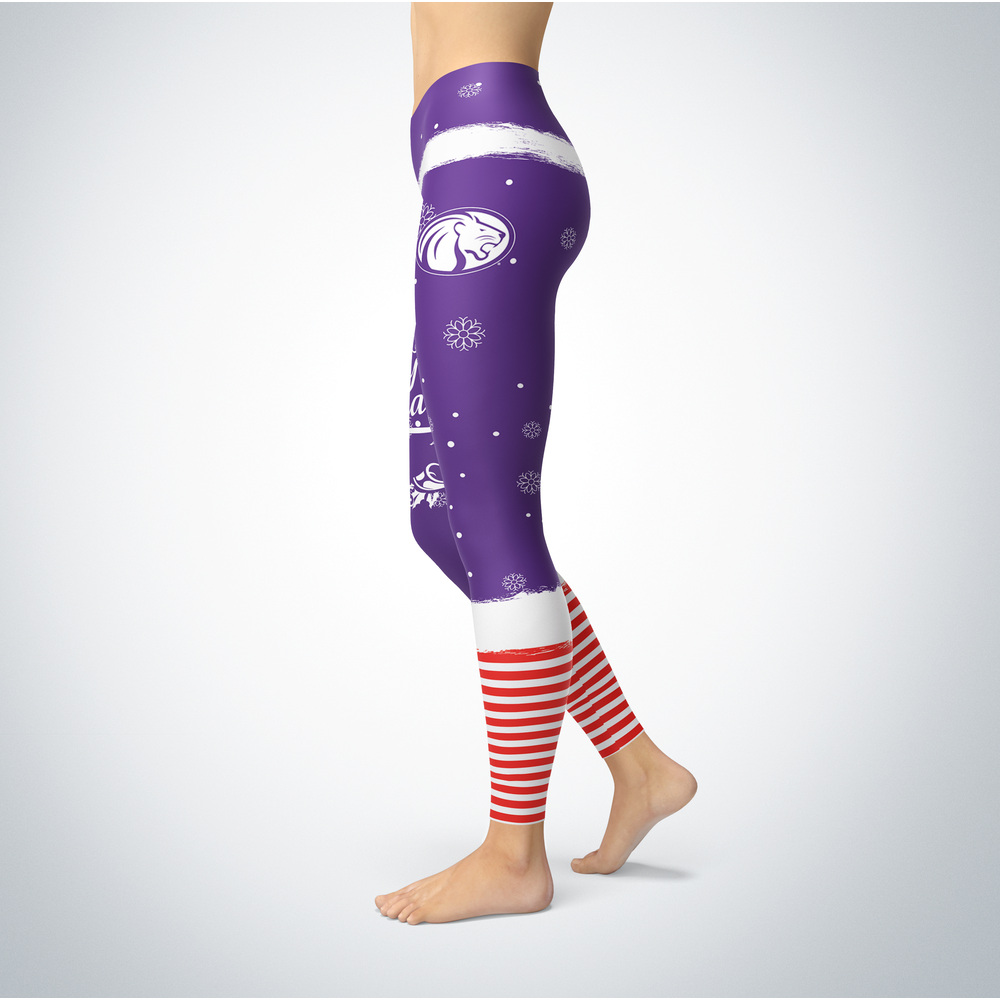 Elf Christmas North Alabama Lions Leggings Front picture