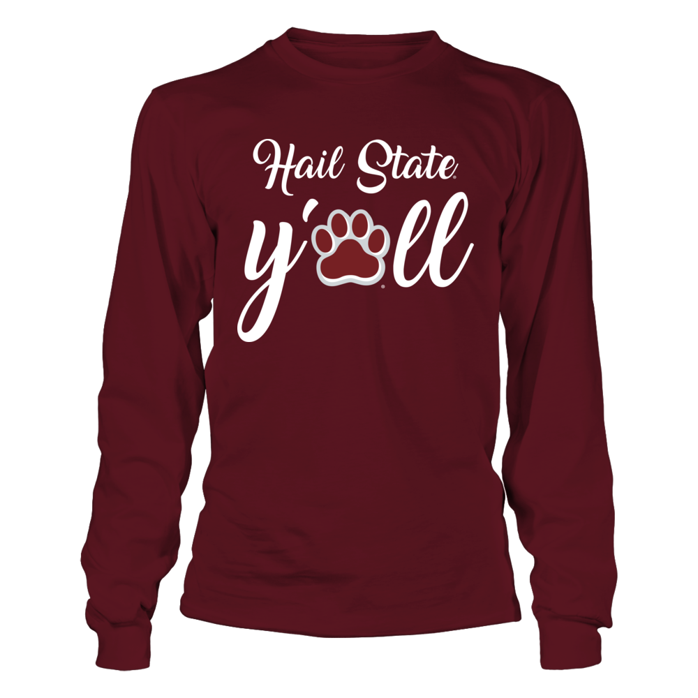 Mississippi State Bulldogs - Y'all Paw Front picture