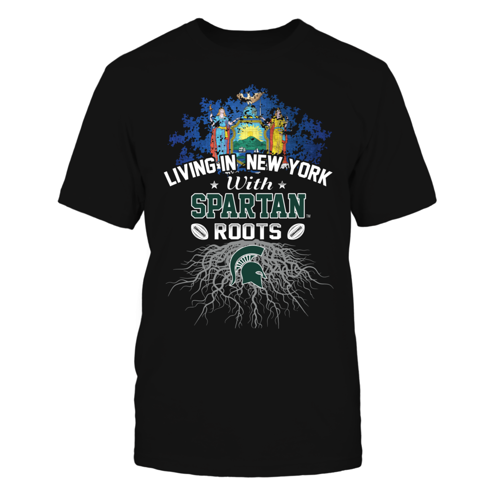 Living in New York with Spartans Roots Front picture