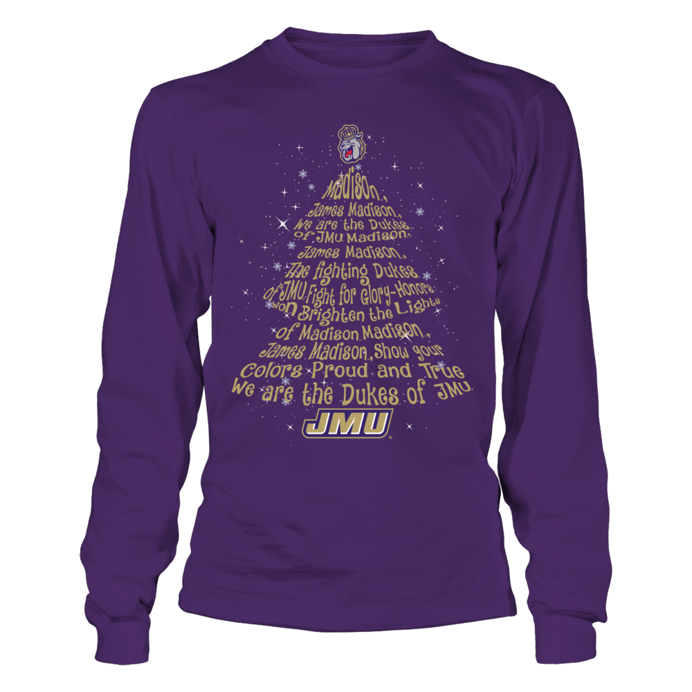 James Madison Dukes - Fight Song Inside Christmas Tree Front picture