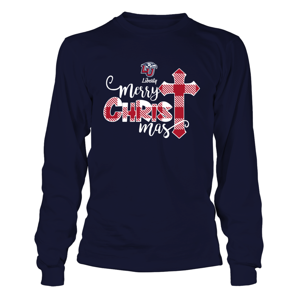 Liberty Flames - Christmas - Merry Christ Mas - Caro Pattern Front picture