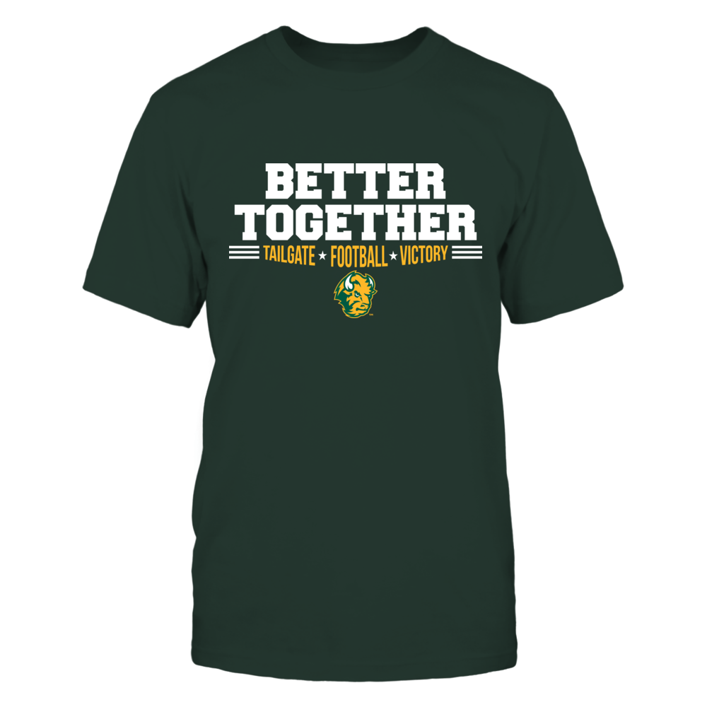 North Dakota State Bison Better Together T-Shirt | Tank Front picture