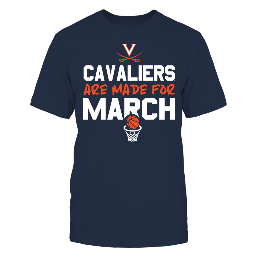 Made for March Virginia Cavaliers  T-Shirt Front picture