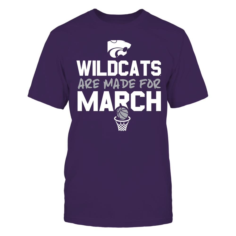 Made for March Kansas State Wildcats T-Shirt Front picture