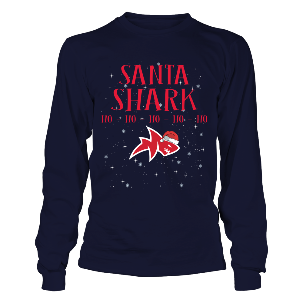 Ole Miss Rebels -  Santa Shark Front picture