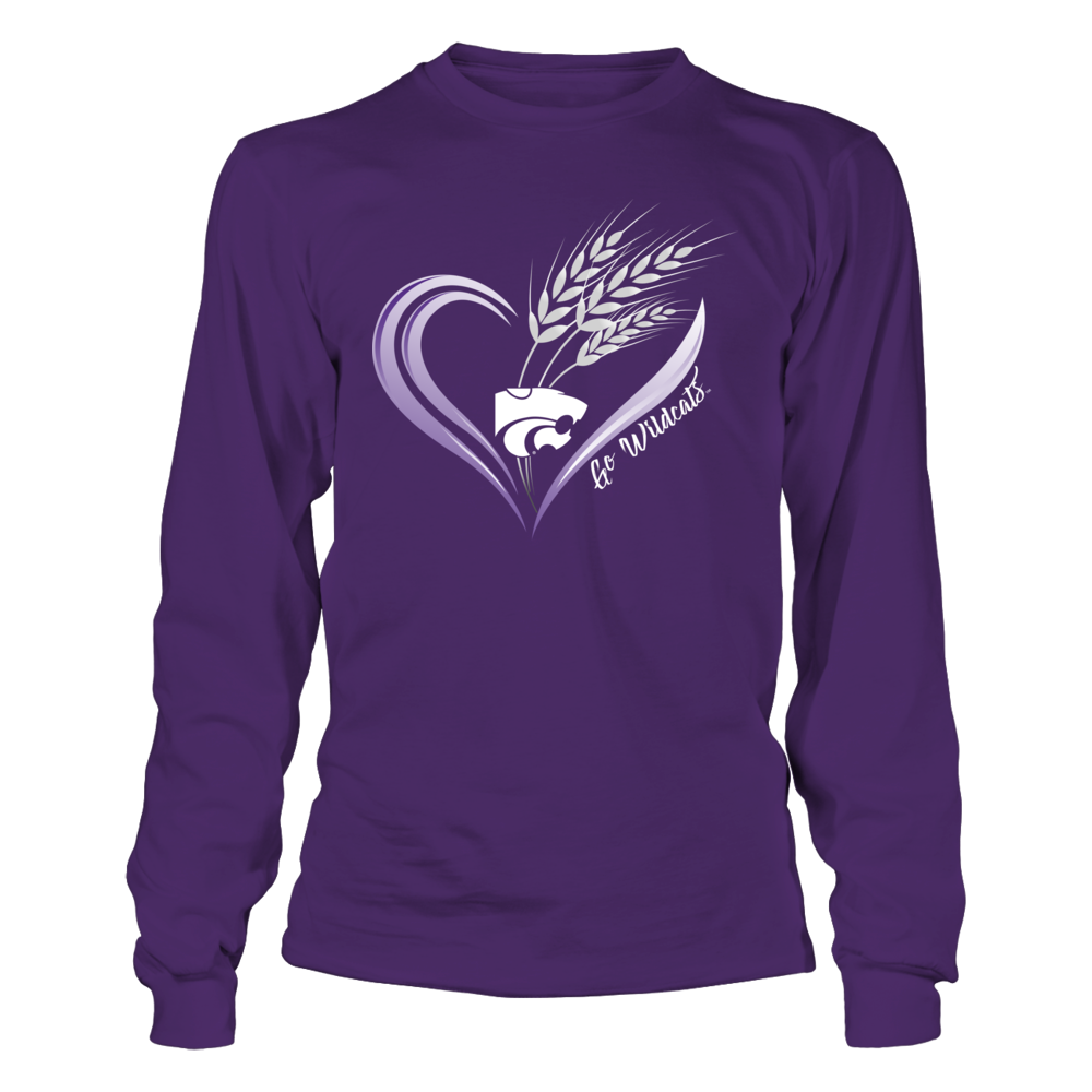Kansas State Wildcats - Wheat Heart - IF-IC13-DS64 Front picture
