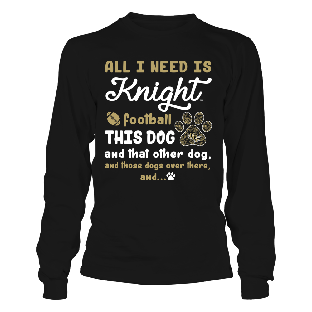 UCF Knights - All I Need - Team and All The Dogs Front picture