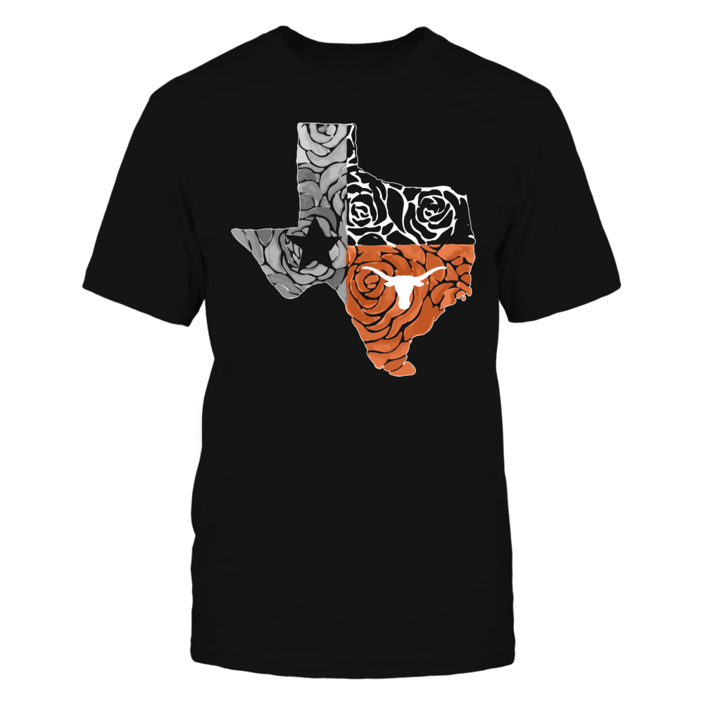 Texas Longhorns - Rose State Flag Front picture