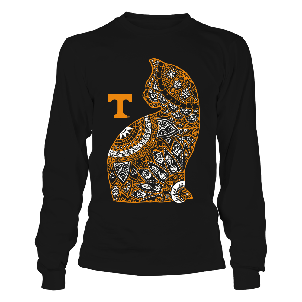 Tennessee Volunteers - Mandala Cat Front picture