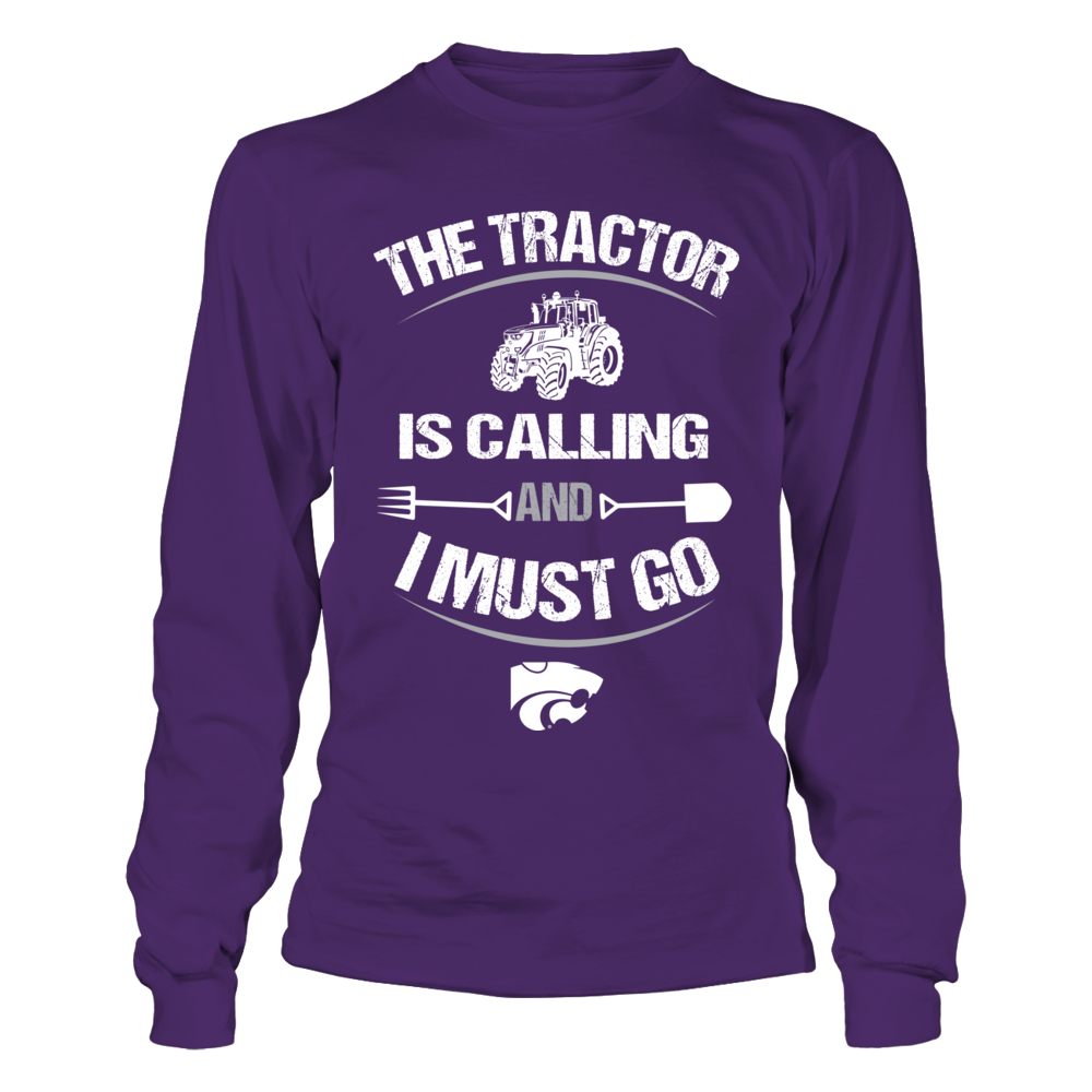 Kansas State Wildcats - Farmer - The Tractor Is Calling Front picture
