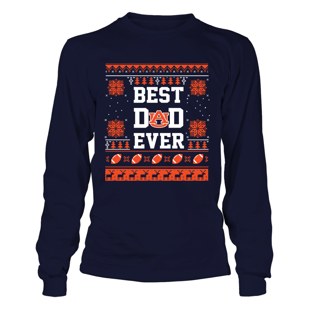 Auburn Tigers - Best Ever Ugly Sweater Front picture