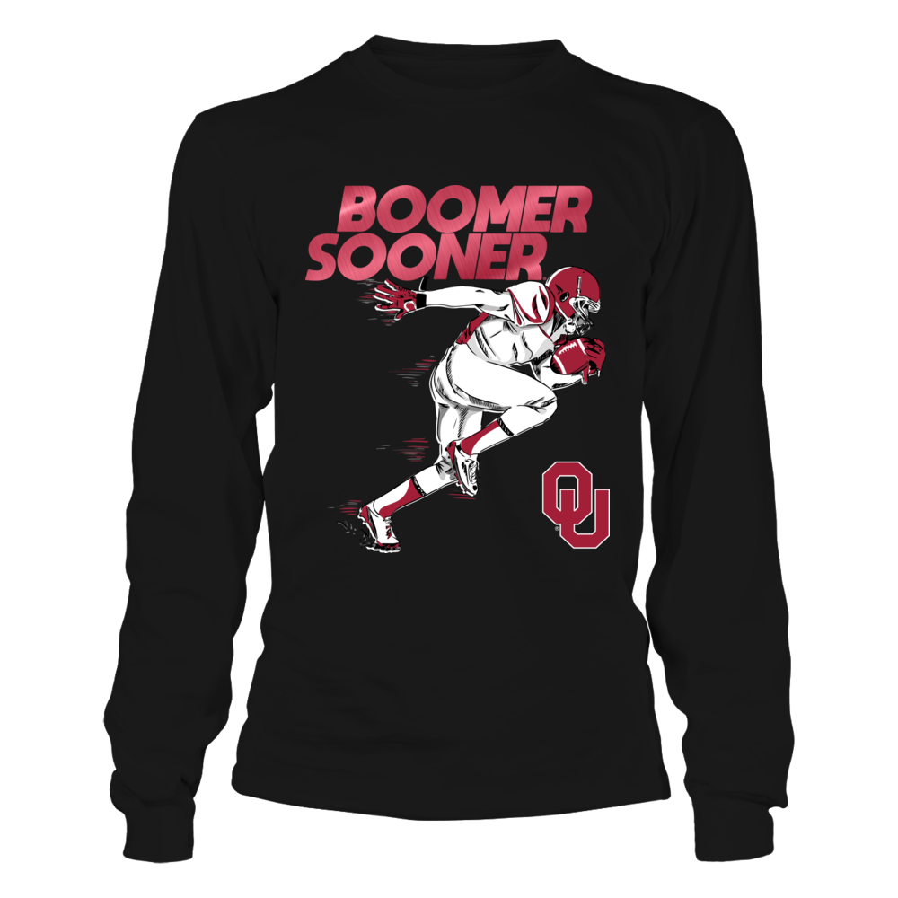 Oklahoma Sooners - Flash Football Player Front picture
